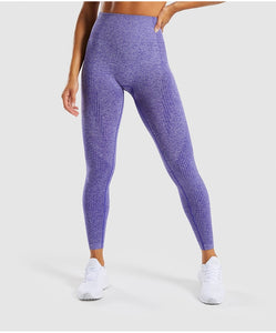 Seamless Fitness Leggings - Sportswear - High Waist - Exercise Leggings