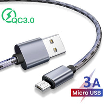 Load image into Gallery viewer, Micro USB Charging Cable Android Cell Phone  (Older Samsung phones)