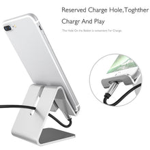 Load image into Gallery viewer, Metal - Aluminum Mobile Phone Stand -  For Most Cell Phones and Small Tablets