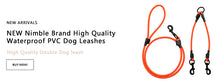 Load image into Gallery viewer, Nylon Heavy Duty Dog / Pet Harness Adjustable Collar