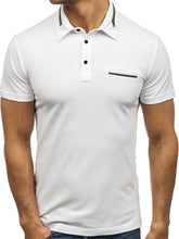 Load image into Gallery viewer, Polo Shirt Men solid color Cotton Short Sleeve M-XXL