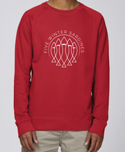 Charger l'image dans la galerie, SWEAT HOMME FIVE ROUGE