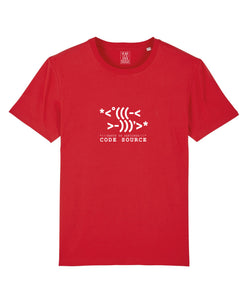 Code T-Shirt Rouge