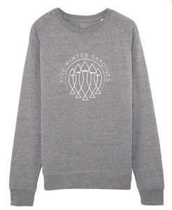 SWEAT HOMME FIVE GRIS