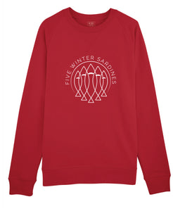 SWEAT HOMME FIVE ROUGE