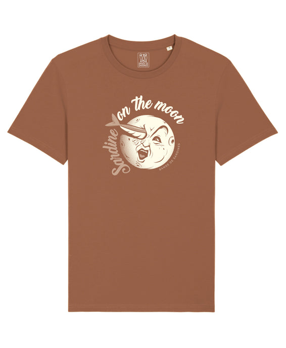 Moon T-Shirt Caramel