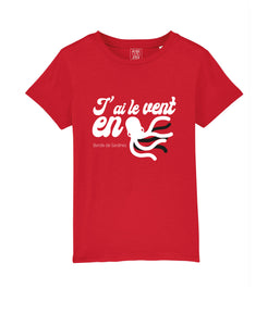 T-shirt Enfant PulpIito Rouge