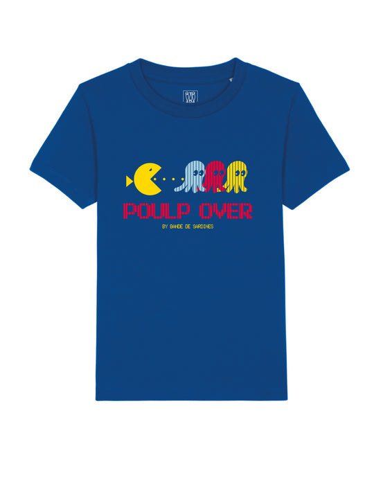 T-shirt Enfant Poulp Over Bleu