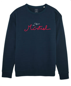 "Sweat Mixte Navy ""Enfant du Mistral"""