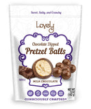 gluten free candy milk chocolate pretzel balls