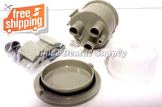 Vacuum Canister Kit, Bracket Mounted Gray Trap Dental DCI 5860