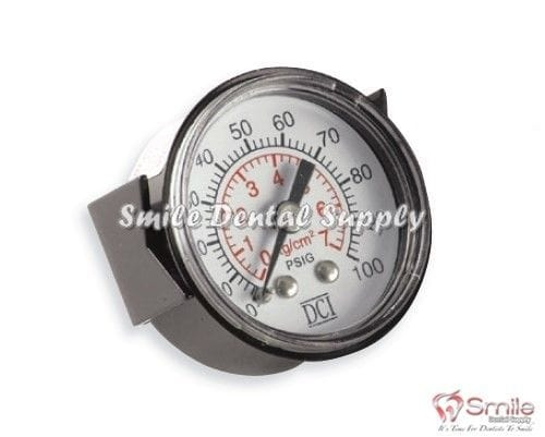 Round Pressure Gauge, Panel Mount, 0-100 PSI DCI 7265
