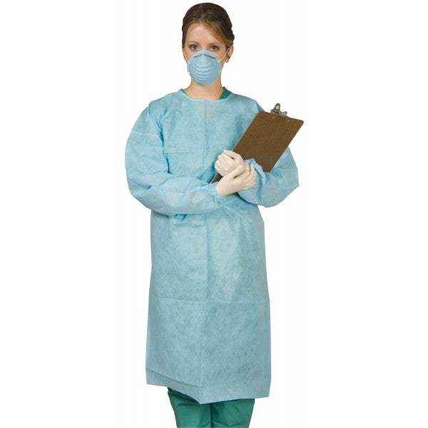 Defend Disposable Tie-Back Protective Gown Unisex 10/Bag