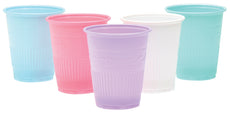 Defend Disposable Drinking Plastic Cups Assorted Color 1000/Cs