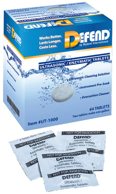 Defend Ultrasonic Enzymatic Tablets 64/Box