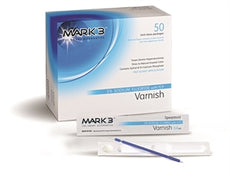Varnish 5% Sodium Fluoride Unidose Package (2 x 5 Pcs) Bubblegum, Mint or Caramel - Made in USA