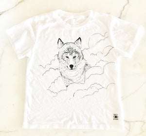 Spirit Animal Organic Cotton Tee - Kids