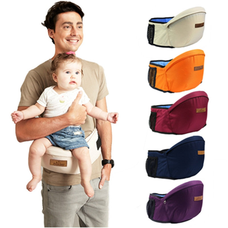 Baby Carrier Waist Stool Baby Sling Hold Waist Belt Cotton Kids Infant
