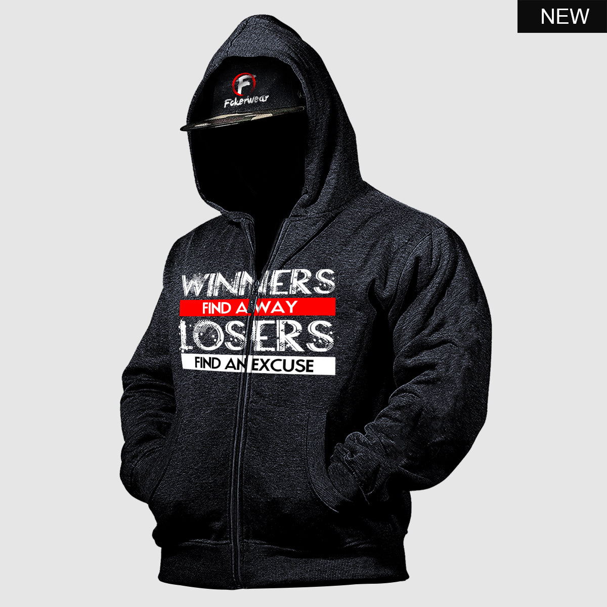 Winners Find a Way™  zip hoodie