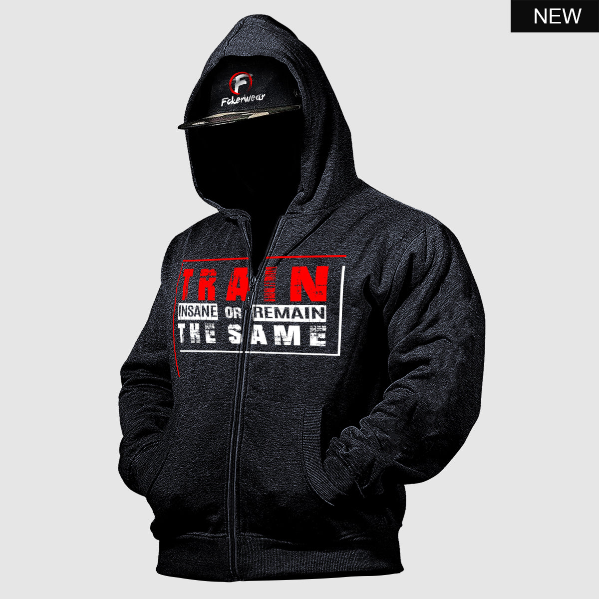 Train Insane or Remain The Same™  zip hoodie