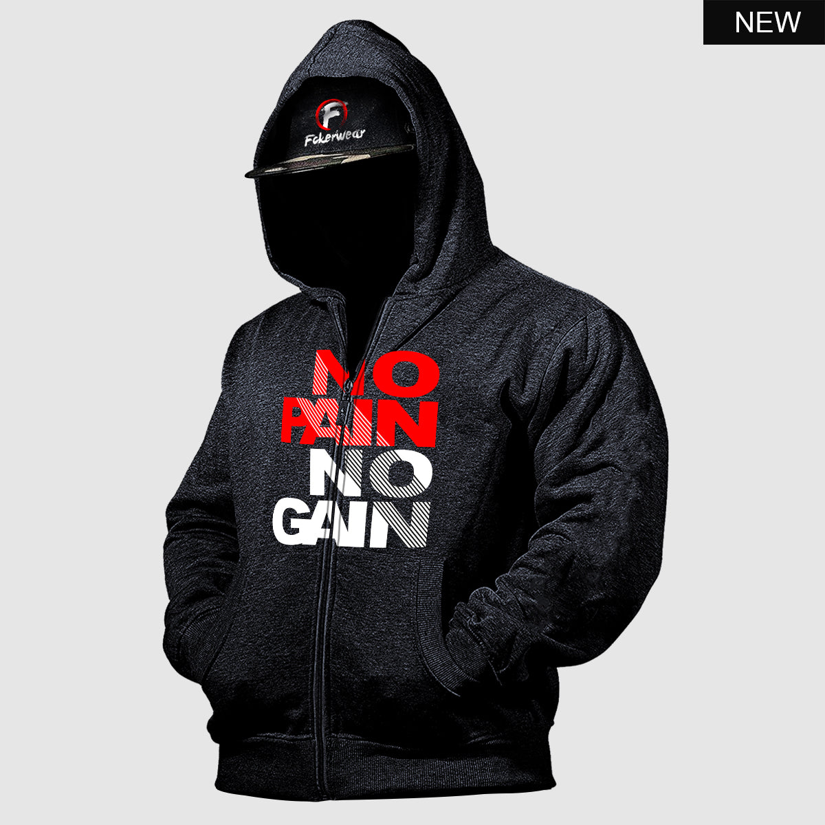 No Pain No Gain Vol.2™  zip hoodie