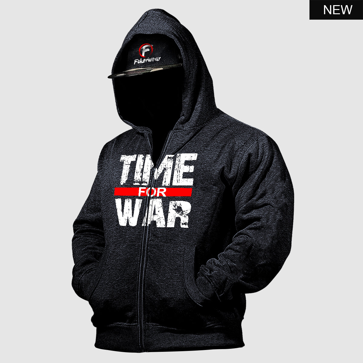 Time for War™  zip hoodie