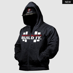 Dream it. Believe it. Build it.™  zip hoodie