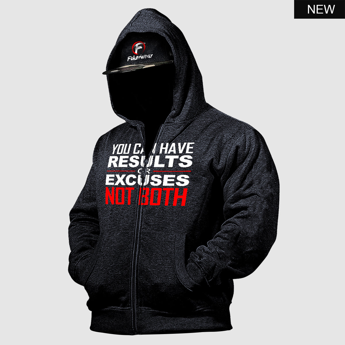 You can have Results™ zip hoodie