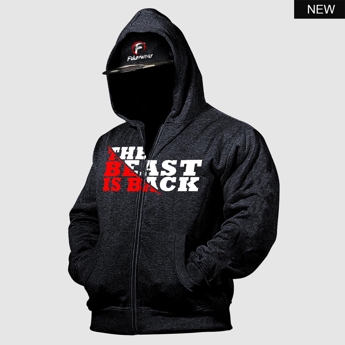 The Beast is Back™ zip hoodie