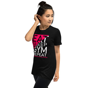 Eat Sleep Gym Repeat I T-Shirt