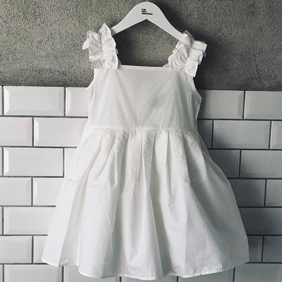 BACK BOW DRESS - The Tiny Universe