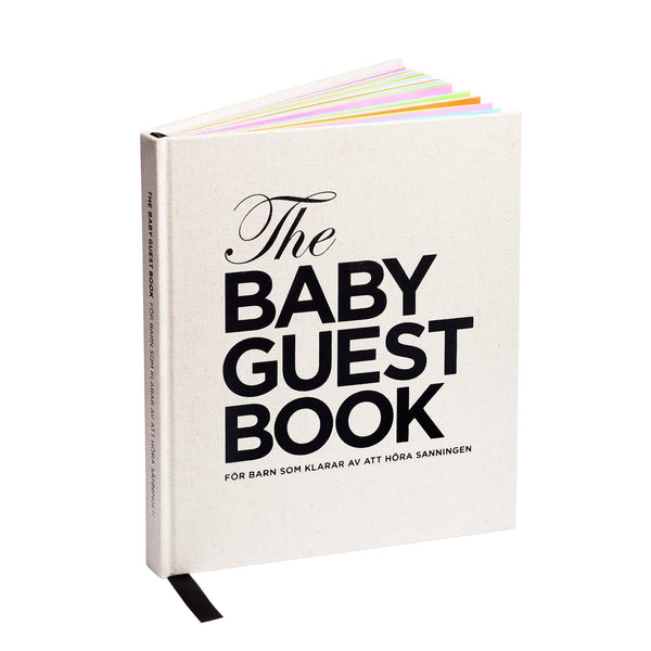 The Baby Guest Book - For barn som tåler å høre sannheten - Norwegian - The Tiny Universe Books