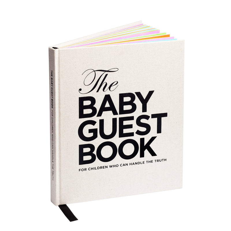 The Baby Guest Book - For children who take being born seriously - English - The Tiny Universe Books