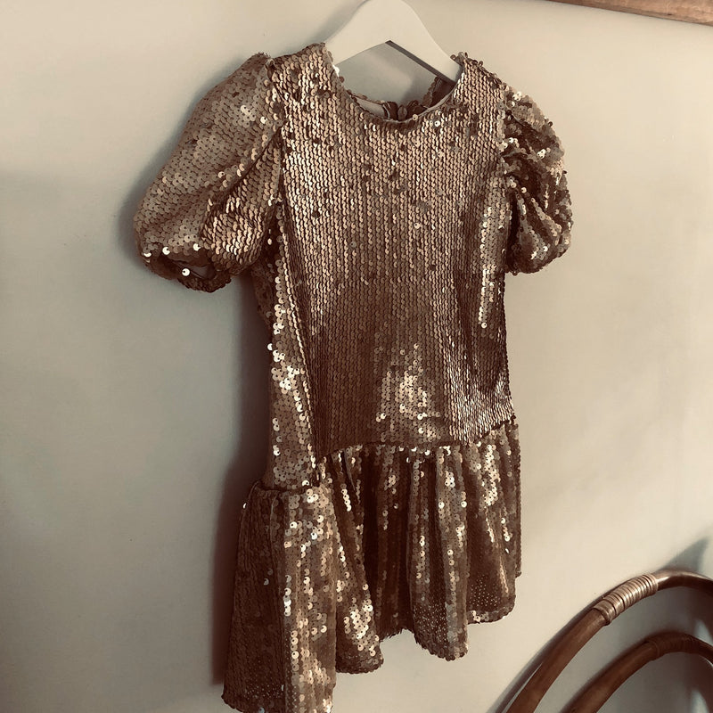 The Sequin Dress - The Tiny Universe Dress