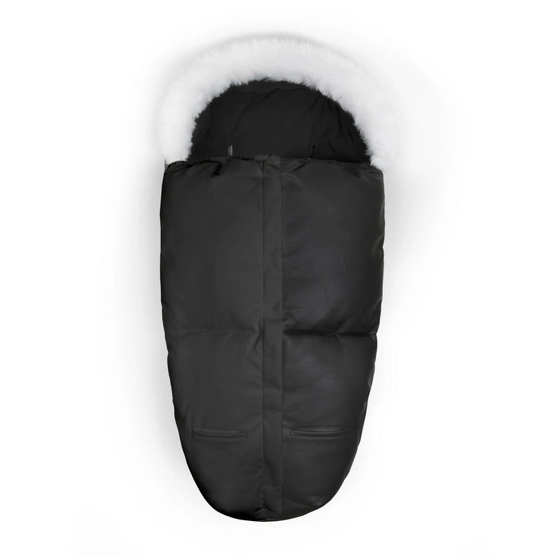 The Tiny Footmuff - PU-leather - All Black - The Tiny Universe