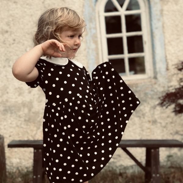 The Tiny Polka Dress - The Tiny Universe Dress