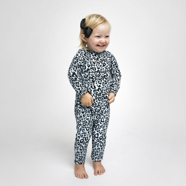 UV-protected Swimsuit - Snow Leopard - The Tiny Universe Swimsuit