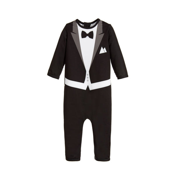 UV-protected Swimsuit - Tuxedo Style - The Tiny Universe Swimsuit