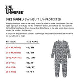 UV-protected Swimsuit - The Tiny Universe Swimsuit