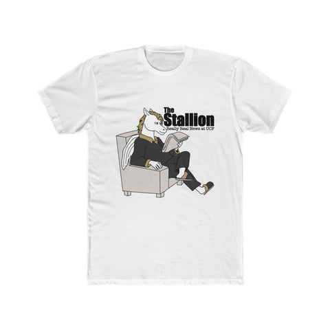 The Stallion's Cotton Crew Tee