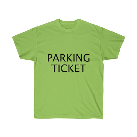 Parking Ticket Shirt