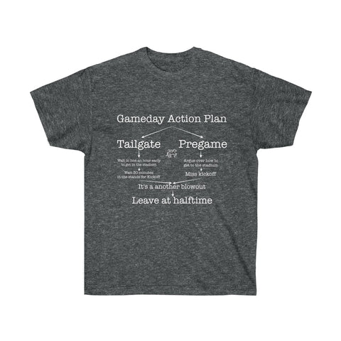Gameday Action Plan T-shirt