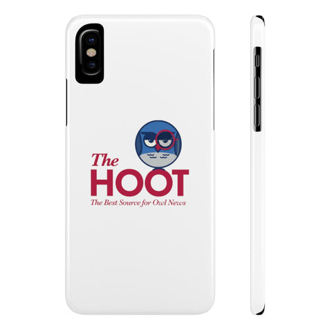The Hoot Slim Phone Case