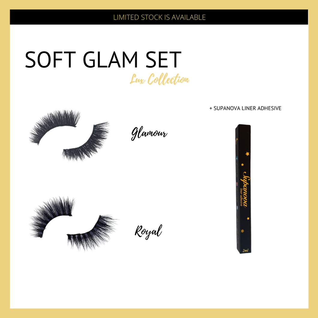 Soft Glam Set - Lux Collection