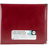 "We R Classic Leather D-Ring Album 12""X12""-Wine (Pack Of 4) 517030 By Notions Marketing"
