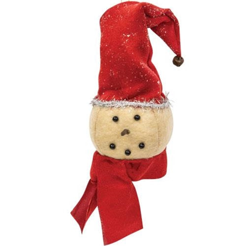 Stocking Cap Snowman Ornament GCS37694 By CWI Gifts