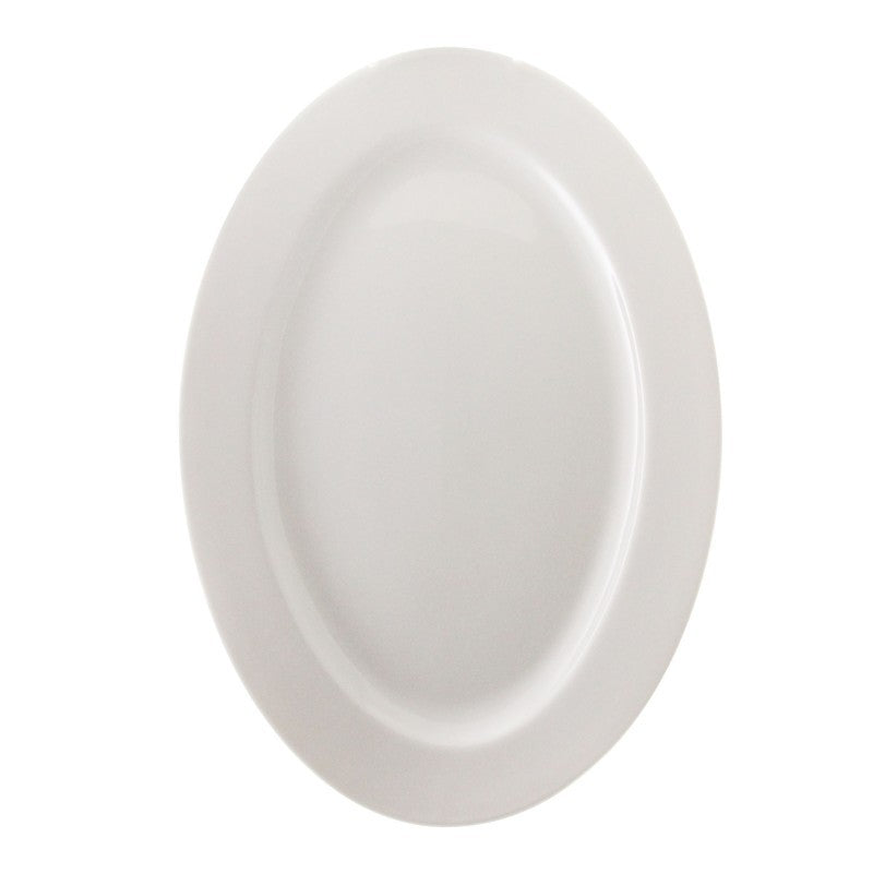 "10 Strawberry Street Bistro 14"" Oval Platter- Pack Of 12 BISTRO-22 Street - Comstrom"