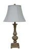 Fangio 28 Inch Resin Table Lamp With Antique Ivory Finish 6116 Antiv