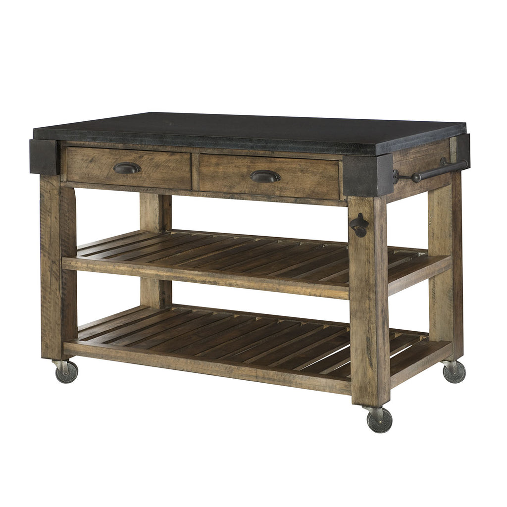 Hammary Furniture Kitchen Island Kd 090 763 Comstrom