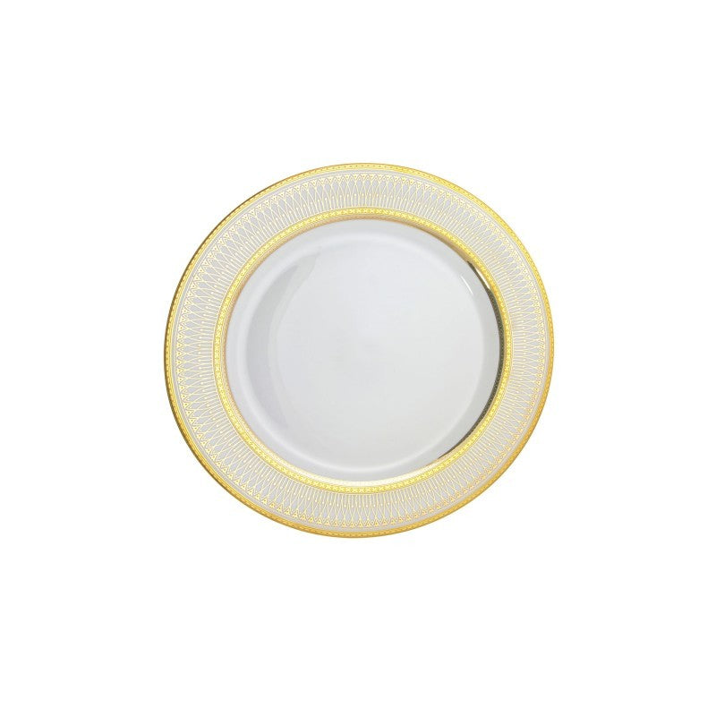 "10 Strawberry Street Iriana 6"" Gold Bread & Butter Plates- Pack Of 24 IRIANA-5GLD - Comstrom"